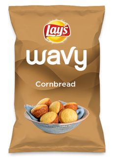 Wouldn't Cornbread be yummy as a chip? Lay's Do Us A Flavor is back, and the search is on for the yummiest flavor idea. Create a flavor, choose a chip and you could win $1 million! https://www.dousaflavor.com See Rules.