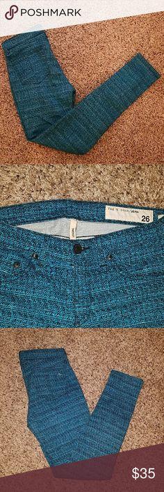 New Rag and Bone leggings Brand new. bright blue Rag and Bone skinny jeans rag & bone Pants Skinny