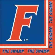 Univ of Florida Lunch Napkins/Case of 240 Tags: University of Florida; Lunch Napkins; Collegiate; University of Florida Lunch Napkins;University of Florida party tableware; https://www.ktsupply.com/products/32786326235/Univ-of-Florida-Lunch-NapkinsCase-of-240.html