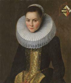 Text Portrait, Renaissance Portraits, Dutch Painters, Baroque Fashion, Vaporwave, 16th Century, Portrait Paintings, White Collar, Female