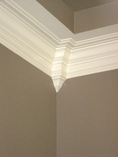 Crown Moulding! A must- have in my house!