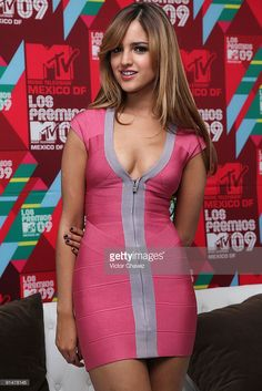 Actress Eisa González attends a photo call and press conference during the Los Premios MTV 2009 Mexico at the Hipodromo De Las Americas on October 5, 2009 in Mexico City, Mexico.