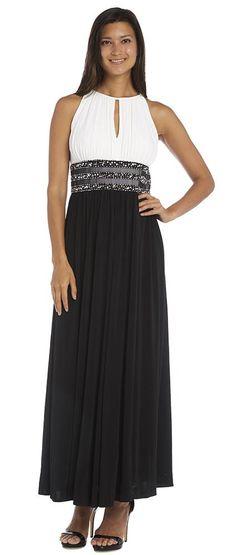 286e8b7347 R M Richards Long Formal Dress Evening Party Gown