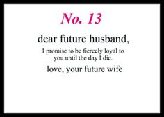 If we decide to get married someday, I'm writing this on a card and leaving it on his desk. <3