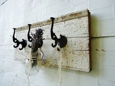 Antique Cottage Coat Rack