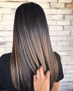 Extra Texture - Page 29 of 36 - hairstylesofwomens. Brown Hair Balayage, Hair Highlights, Gorgeous Hair Color, Sleek Hairstyles, Straight Hairstyles, Luxury Hair, Brown Hair Colors, Great Hair, Hair Looks
