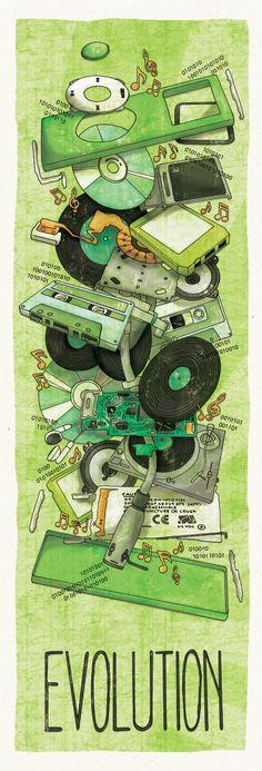 Vinyl Etiquette on the Behance Network