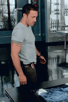 """"""" Steve hitches his pants, a lot  <---And makes me happy every time"""