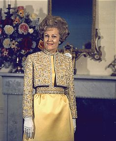 Pat Nixon - I think she was one of the most dignified First Ladies we have ever had - at least in my life time.