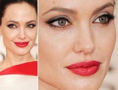 Batom cereja de Angelina Jolie