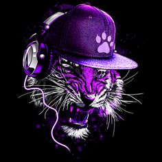 Sound Trip Tiger T Shirt By Moncheng Design By Humans Tiger Wallpaper, Music Wallpaper, Marvel Wallpaper, Animal Wallpaper, Regard Animal, Arte Lowrider, Tiger Artwork, Psy Art, Dope Wallpapers
