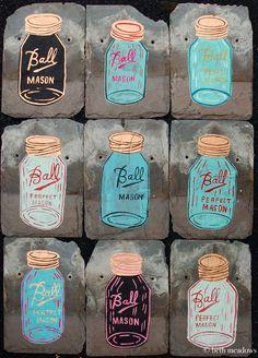 Nothing found for 2012 08 Mason Jar Painting Giveaway Painted Mason Jars, Cool Art, Fun Art, Bird Design, Giveaway, Cool Stuff, Wallpaper, Masons, Diy