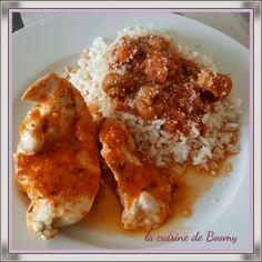 Aiguillettes de poulet sauce tomate /champignons  (Cook'in )