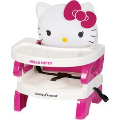 NEED THIS FOR ESTELAR!!! ONLY $22!  Baby Trend EasySeat Toddler Booster Seat, Hello Kitty