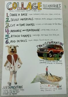 Image result for TAB collage techniques