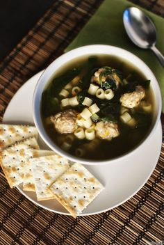 healthy italian wedding soup