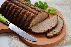 Oszczędny pasztet z mięsa z rosołu Polish Recipes, Polish Food, Meatloaf, Banana Bread, Curry, Food And Drink, Desserts, Diet, Bulgur