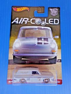 2017 Hot Wheels '69 Volkswagen Squareback * AIR Cooled Car Culture Real Riders #HotWheels