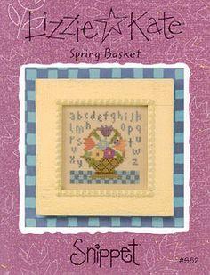 Spring Basket - Cross Stitch Pattern