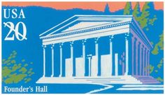 The 150th anniversary of Girard College in Philadelphia, PA, was commemorated on a stamped postal card in the Historical Preservation series in 1998.
