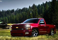 2014 chevy silverado dropped this is my dream truck. I really like the newest model of the chevy silverado. I will own one of these when I start working.