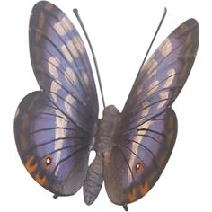 Antique Vienna Bronze figure of a blue butterfly, late 19th century