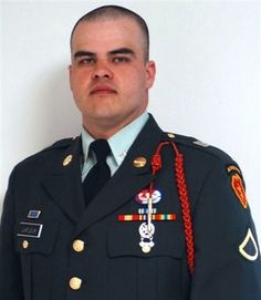 Lafleur, of Ignacio, Colo., was killed July 2007 from wounds suffered when an improvised explosive device detonated near his vehicle while on a patrol near Hawr Rajab, Iraq. Real Hero, My Hero, Fallen Heroes, Fallen Soldiers, Military Men, Military Quotes, Fort Richardson, Improvised Explosive Device, Remember The Fallen