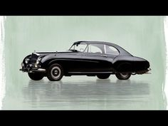 1955 Bentley R-Type Continental Sports Saloon by H.J. Mulliner - The ult...