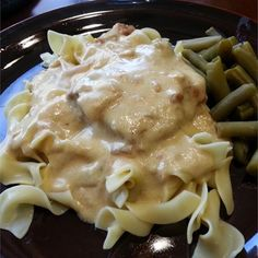 """Sour Cream Pork Chops I """"This recipe is definitely a keeper. My entire family loved the tenderness of the chops and the richness of the gravy."""""""