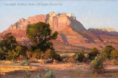 Desert Shadows  Kathryn Stats • Oil     20 x 30
