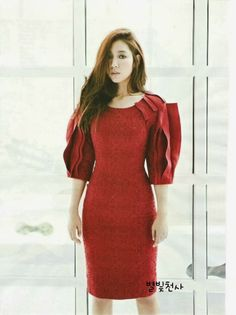 Go here for Park Shin Hye's first batch of spreads from InStyle Korea's October issue. Park Shin Hye, Park Pictures, Instyle Magazine, Beautiful Asian Girls, Korean Beauty, Her Style, Lady In Red, Korean Girl, Fashion Beauty