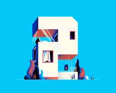 Numerical Architecture: Creative Typography by Muhammed Sajid – Inspiration Grid | Design Inspiration