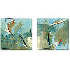 @Overstock.com - Maxine Price Early Dawn Comes Waking Wrapped Art Set - Update the look of a room with this gallery-wrapped canvas art by artist Maxine Price. The large size and bright colors of Early Dawn Comes Waking will draw everyones attention. The limited-edition print also comes with a certificate of authenticity.  http://www.overstock.com/Home-Garden/Maxine-Price-Early-Dawn-Comes-Waking-Wrapped-Art-Set/3299949/product.html?CID=214117 $184.99