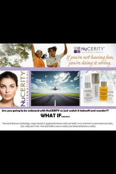 Nucerity... Why not?  www.mynucerity.biz/tanisyetman