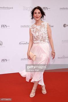 Sibel Kekilli arrives for the German Film Award 2015 Lola (Deutscher Filmpreis) at Messe Berlin on June 19, 2015 in Berlin, Germany.