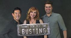 After 10 years of blowing stuff up and reality-checking hundreds of myths, co-hosts Grant Imahara, Kari Byron and Tory Belleci are leaving on the popular science TV program.