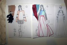 Raffaele Ascione's walls are covered with design ideas, art is everywhere. Read our interview with CSM graduate here: http://1granary.com/central-saint-martins-fashion/graduates/raffaele-ascione/ #CSM #1Granary #interview #fashion #sketch #sketchbook #designidea #illustration #fashion