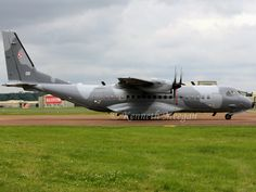 CASA 295M Polish Air Force RAF Fairford 9/7/2012 - by Ken Meegan