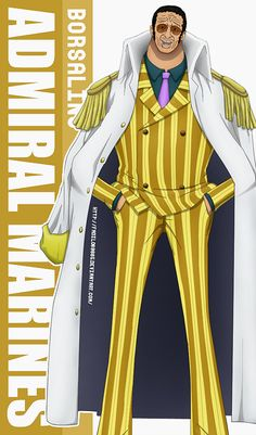 One Piece Wallpapers Mobile : Admiral , Borsalino by Fadil089665 on DeviantArt