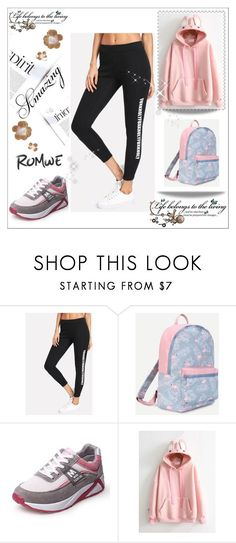"""Romwe 4"" by medinicab ❤ liked on Polyvore featuring Champion"