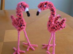 Flamingo chicks.