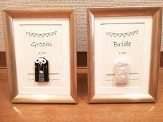 インスタで見つけた!夫婦守りの活用アレンジ方法15選♡ Bride Groom, Wedding Decorations, Frame, Picture Frame, Wedding Decor, Frames