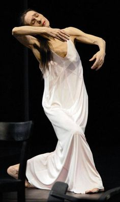 "Gorgeous. ""Dance, dance, or all is lost."" Pina Bausch 2003, CAFE MULLER"