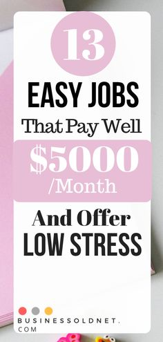 Discover several easy high paying jobs that pay well, including work-from-home options, low-stress jobs for teens and college students Easy Online Jobs, Easy Jobs, Online Work, Work From Home Options, Work From Home Opportunities, High School Students, College Students, Low Stress Jobs, Jobs For Teens