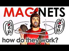 In this video, MinutePhysics host Henry Reich explains how magnets work, why they attract, and why they repel. How do magnets work? Why do they attract Magnets Science, Preschool Science, Elementary Science, Science Classroom, Teaching Science, Science Education, Science For Kids, Earth Science, Waldorf Education