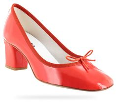 Ballerina Paname Patent leather Chéri red by Repetto - Collection spring-summer 2014