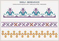 Beading Patterns, Knitting Patterns, Folk Embroidery, Folk Fashion, Stitch Design, Pixel Art, Cross Stitch Patterns, Alphabet, Projects To Try