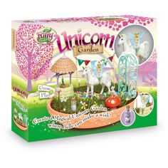 Create a magical unicorn garden where Fairy Belle can make a wish! My Fairy Garden Unicorn Garden is a Grow & Play playset that includes everything you need . Garden Toys, Garden Crafts, Unicorn And Fairies, Unicorn Kids, Magical Unicorn, My Fairy Garden, Fairies Garden, Fairy Gardens, Garden Animals