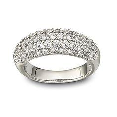 SWAROVSKI MAEVE RING, SIZE 55, 1082413 | Duty Free Crystal