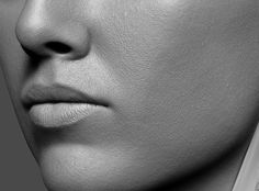 ArtStation - Skin details test, Eugene Fokin